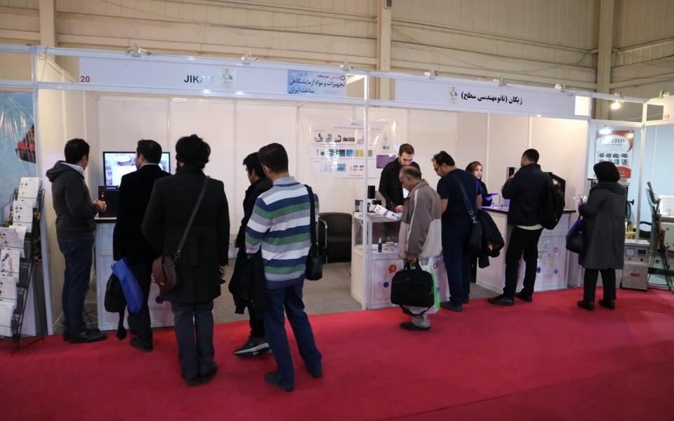 Jikan in IranLabExpo2018-2